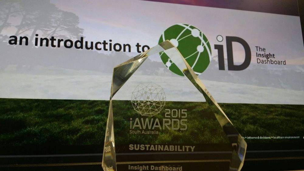 SRA wins Sustainability iAward