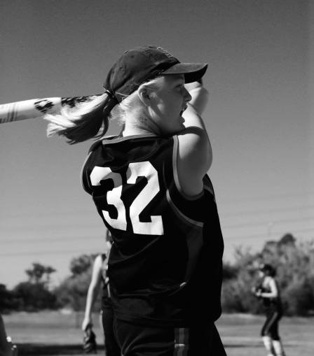 karah-batting-bw